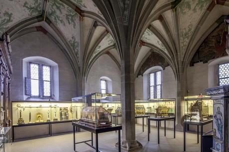 Schatzkammer gesamt im Münster St. Maria u. Markus, Reichenau