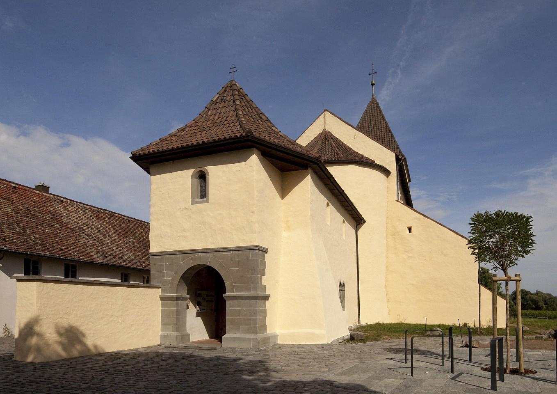 Kirche St. Georg außen, Reichenau