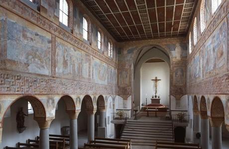 Wandmalereien in der Kirche St. Georg, Reichenau