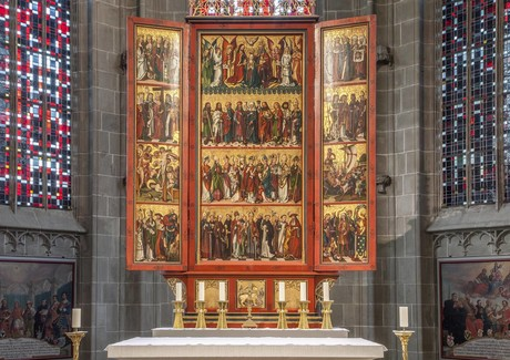 Münster St. Maria und Markus, Hochaltar, Reichenau