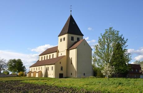 Kirche St. Georg Außenansicht, Reichenau
